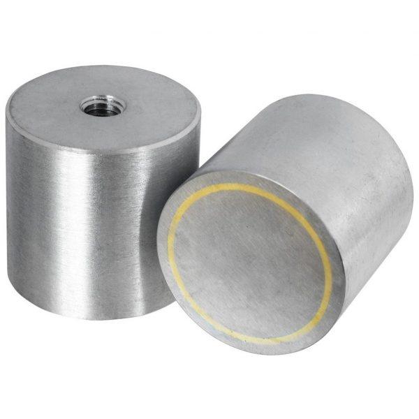 Alnico Høy Pot Magnet - Innvendig gjenger